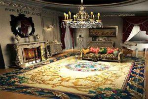 دکوراسيون فرش و مبل