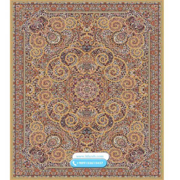 فرش 500 شانه طرح میترا بادامی