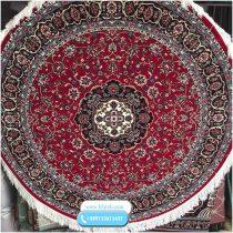 فرش گرد قرمز