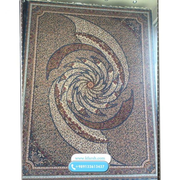 فرش 1000 شانه تماشا آبی